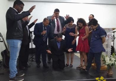 Pastor Fábio Gentil assume oficialmente o Ministério Pastoral da Primeira Igreja Batista de São Lourenço da Serra