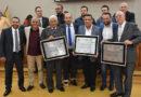 Hugo Prado e Gilson Oliveira homenageiam pastores pelos 108 anos de Assembleia de Deus no Brasil
