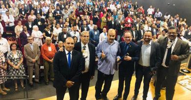Assembleia de Deus reúne Deputado Federal Cezinha de Madureira, vereador Gilson Oliveira e líderes religiosos em Embu das Artes
