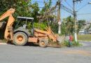 Prefeitura em Ação em Itapecerica contabiliza retirada de 64 caminhões de entulho e cata-bagulho