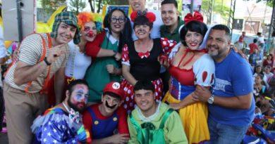 Rita de Cássia e heróis infantis promovem Festa para quase 2 mil crianças no Marabá