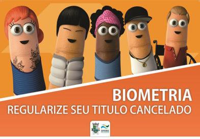 Biometria 2020: quem perdeu o prazo já pode regularizar o título cancelado em Itapecerica