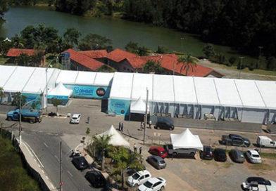 Ney fecha Centro da Covid no Pq. Rizzo, alvo de negligência e superpreço