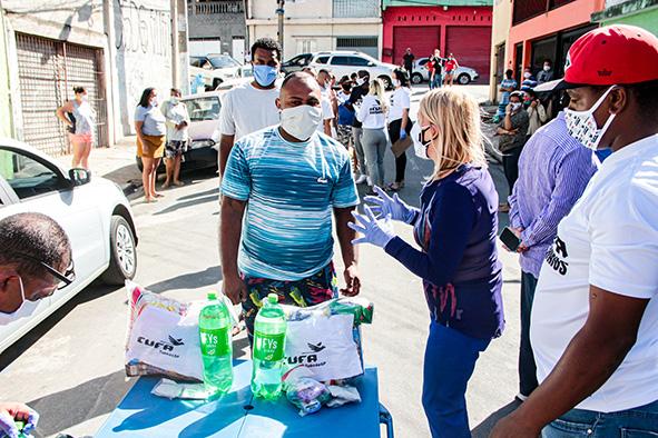Parceria entre CUFA e Prefeitura beneficia moradores de favelas de Taboão da Serra