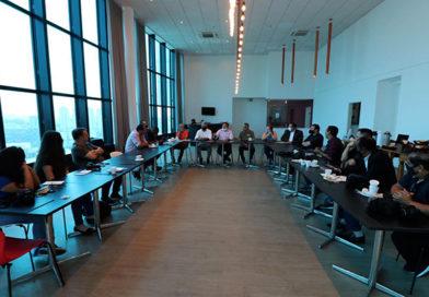Aprígio e Buscarini recebem jornalistas e exaltam importância da imprensa regional