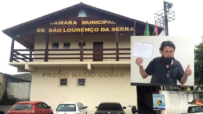 João Lobo sugere adotar o uso de máquina de cartão para pagamento de impostos em São Lourenço da Serra