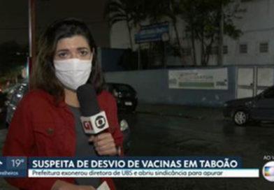 Taboão da Serra exonera diretora de UBS e abre investigação sobre suposto desvio de doses de vacinas contra Covid