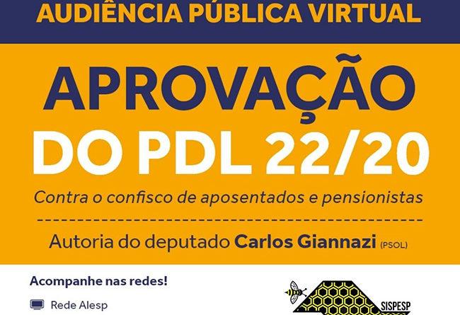 Coluna do Servidor – Audiência Pública na Alesp debate ataques aos servidores públicos