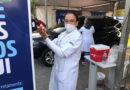 Prefeitura de Embu das Artes disponibiliza lavatórios móveis nos postos de vacinação