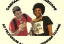 Campanha em defesa dos professores Alex Viana e Viviane Pereira
